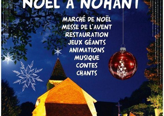 Marché de Noël à Nohant